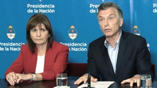 Bullrich volvió a negar que Macri le haya ofrecido la candidatura a vicepresidente