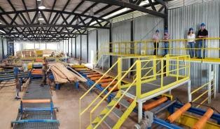 Inauguran un centro para el desarrollo de la industria de la madera