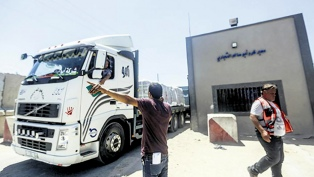 Permiten la entrada de combustible a Gaza tras un día de calma