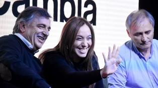 Vidal estuvo en la provincia apoyando a Mario Negri, con vista a las elecciones provinciales