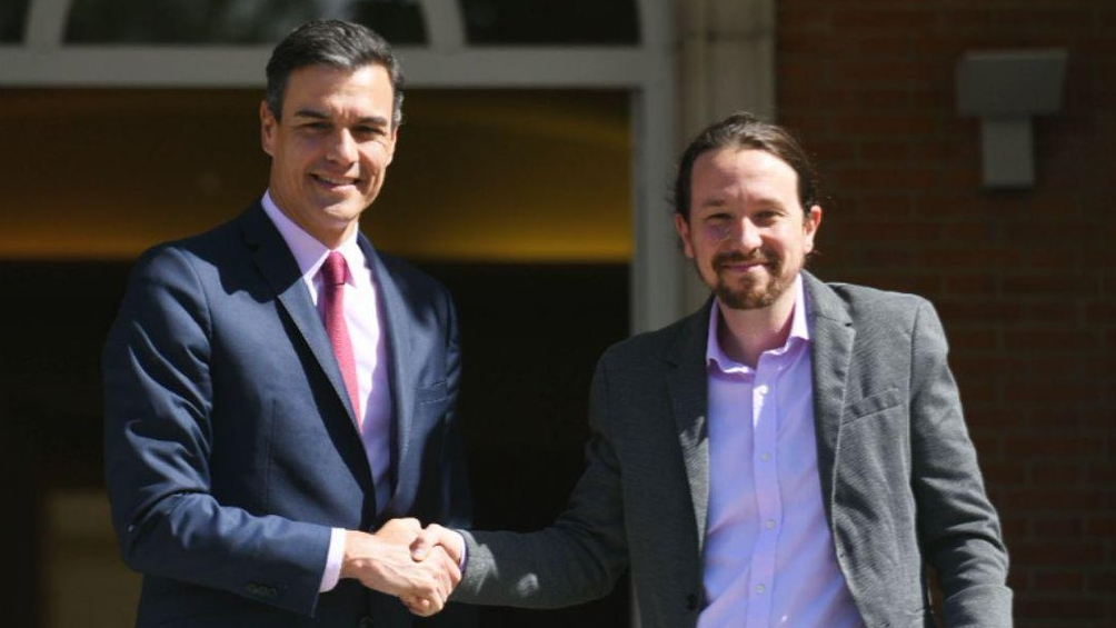 Sánchez e Iglesias alcanzan un preacuerdo de gobernabilidad.