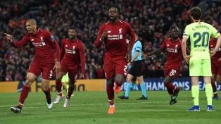 Liverpool logró el milagro: goleó al Barcelona y es finalista