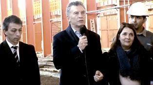 """Macri: """"Hace 40 años que no se invertía en seguridad en los trenes de pasajeros"""""""