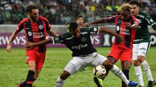 San Lorenzo no pudo ante Palmeiras en Brasil