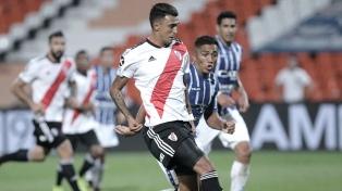 Gallardo probó con Matías Suárez y Julián Alvarez en ataque