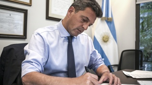 """Massa aseguró que trabaja para cumplir con el """"mandato del congreso"""" del FR"""