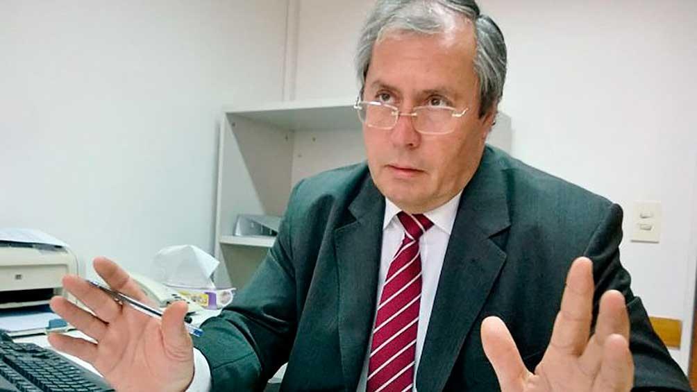 El diputado Héctor Olivares