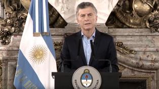 """Macri felicitó a fuerzas de seguridad por el """"impresionante trabajo"""""""