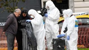 Las fotos del lugar del ataque y la investigación