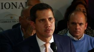 Según Guaidó, Maduro es el responsable de que el chavismo y la oposición no reanuden el diálogo