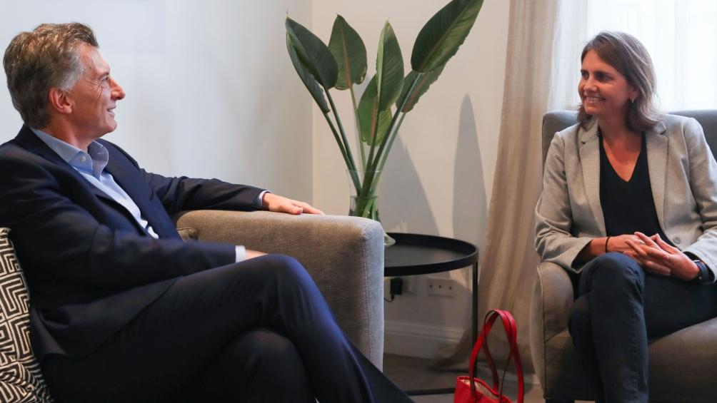Macri recibió en Olivos a Marina Simian, investigadora del Conicet