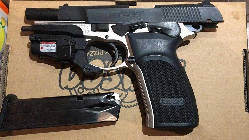 El arma con la que se habría cometido el doble homicidio
