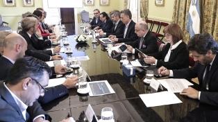 El Presidente encabezará una reunión de gabinete en Casa Rosada