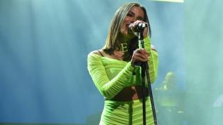 Anitta demostró su calidad en una noche festiva y hot