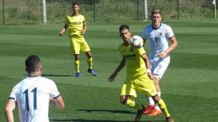Argentina venció al Villarreal B en un amistoso preparatorio
