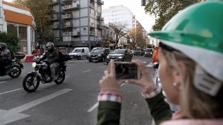 Córdoba y Juan B. Justo, reabierta al tránsito y sin barreras