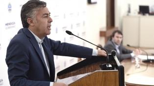 Cornejo pidió suspender las PASO en las provincias donde no hay competencia interna