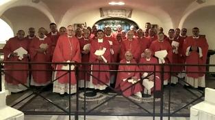 El Papa reiteró ante Obispos su deseo de visitar el país y les pidió por los pobres