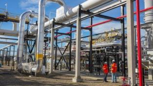 Amplían una planta de tratamiento de gas por US$ 200 millones