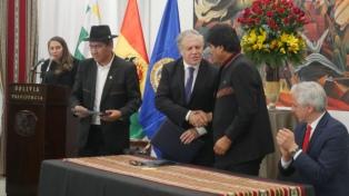 """El ex presidente Quiroga denunció un """"pacto"""" entre Morales y Almagro"""