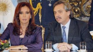 Preparan el primer acto de campaña de Cristina Kirchner y Alberto Fernández