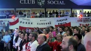 La UCR bonaerense ratificó la integración con Cambiemos por amplia mayoría