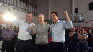 El presidente Mauricio Macri participó de una choripaneada en un club porteño