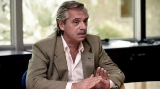 Fernández se reunirá con senadores del peronismo no kirchnerista