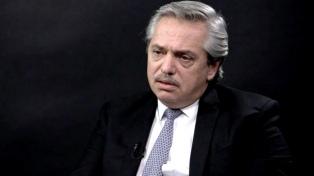 """Alberto Fernández fue recibido por la Conferencia Episcopal para analizar """"la delicada"""" situación social"""