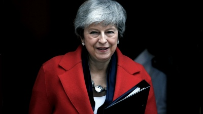 May abandona Downing Street con