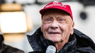 Falleció el ex campeón mundial de Fórmula 1 Niki Lauda