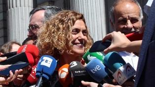 La catalana Meritxell Batet es la nueva presidenta del Parlamento