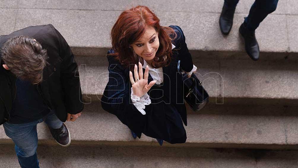Cristina asistió al cuarto día de juicio por la obra pública