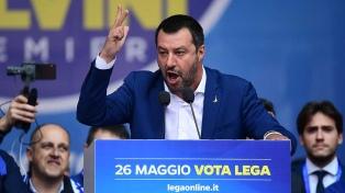 "Salvini anuncia que vencerá ""la batalla sobre inmigrantes"""