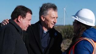 """Weretilneck, en la inauguración de un parque eólico: """"Sin energía no hay desarrollo"""""""