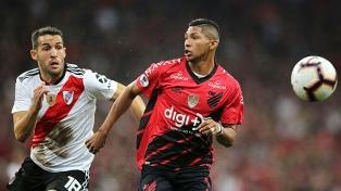 River no pudo en la primera final con Atlético Paranaense