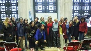 Mujeres músicas discuten la media sanción de la ley de cupo