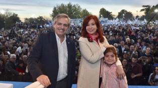 Presentaron el frente electoral que apoyará a la fórmula Fernández-Fernández