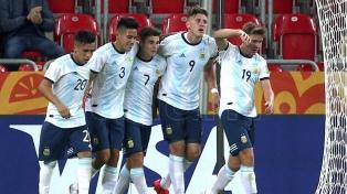 Debut y goleada de la Argentina