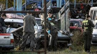 Dieron el alta a la única sobreviviente de la masacre policial