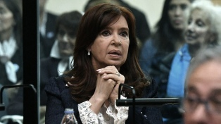Cristina Kirchner no concurrirá el lunes a una nueva audiencia del juicio por obra pública