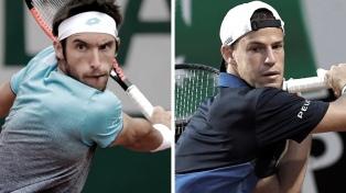Mayer y Schwartzman debutan con éxito y se enfrentarán en la segunda ronda del torneo