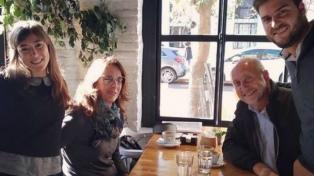 Perotti y Bielsa se muestran juntos en la presentación de un libro en Rosario