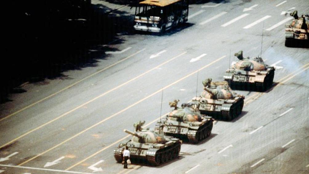 Murió Charlie Cole, autor de la famosa foto en Tiananmen