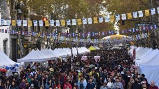 """La avenida de Mayo cerrada por """"Buenos Aires Celebra"""""""