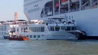 El choque en Venecia reabrió el debate sobre la presencia de cruceros