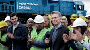 """Mauricio Macri: """"El abandono ferroviario se acabó"""""""