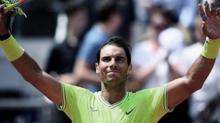 Rafael Nadal se ubica primero en el ranking del año despues de ganar Roland Garros