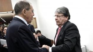 Colombia y Rusia coincidieron en rechazar el uso de la fuerza