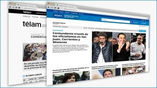 Se lanzó la nueva plataforma multiservicios de Télam